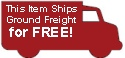 Free freight on this item, this item ships for free to you.