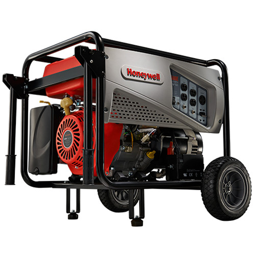 Honeywell 7,500 Watt 420cc OHV Portable Gas Powered Generator with Electric Start (CARB Compliant)