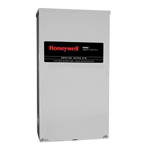 Honeywell RXSM200A3 Single Phase 200 Amp/240 Volt Sync Transfer Switch