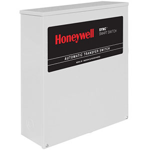 Honeywell RXSK200A3 Single Phase 200 Amp/240 Volt Sync Transfer Switch, Non Service-Rated