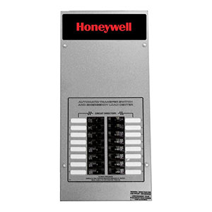 Honeywell RTG16EZA3H 16-circuit 100 Amp Load Center ATS - NEMA 3 CUL